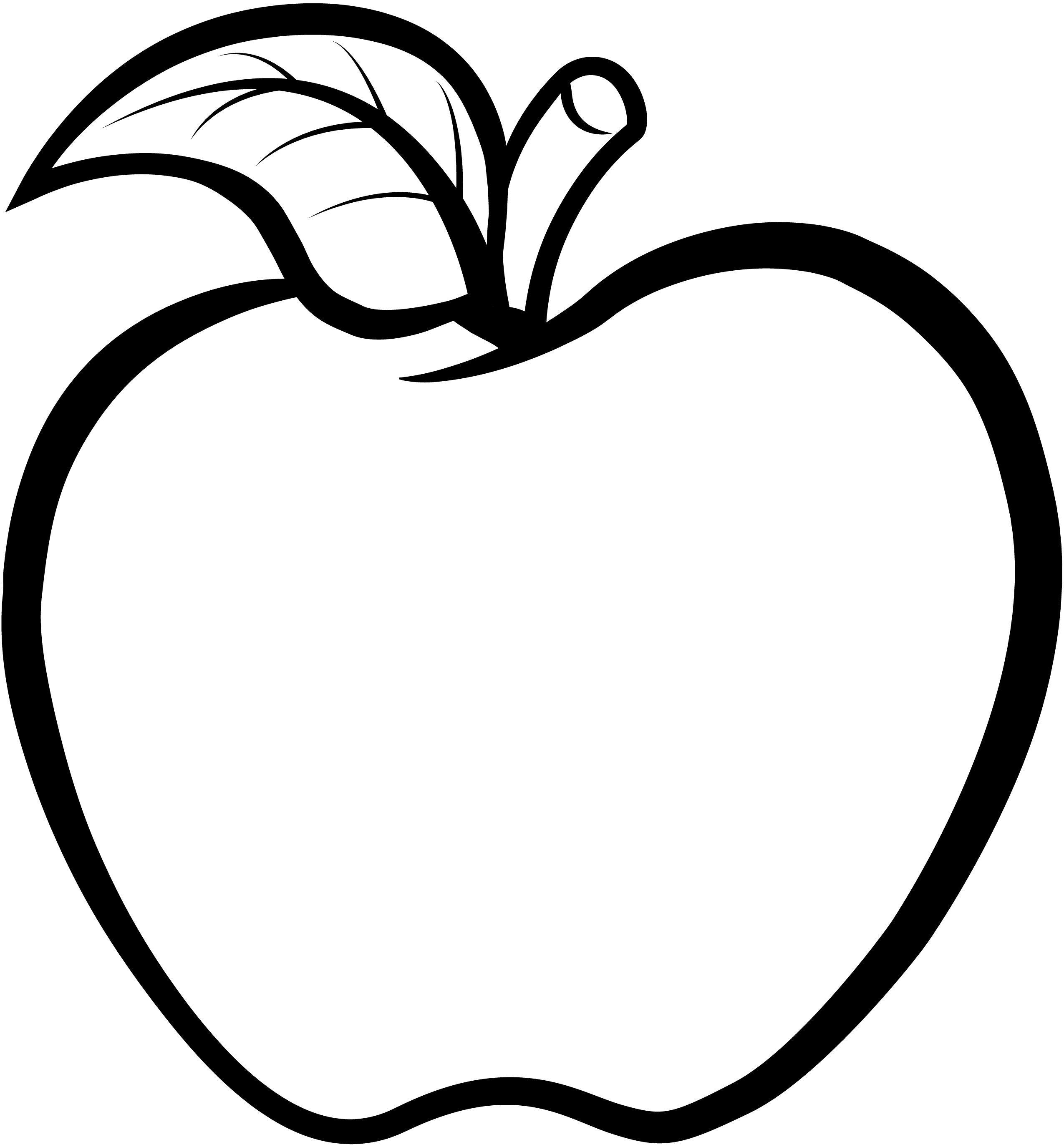 Apple core clipart black and white free clipart freeuse download Abeka | Christian School Digital Overview clipart freeuse download