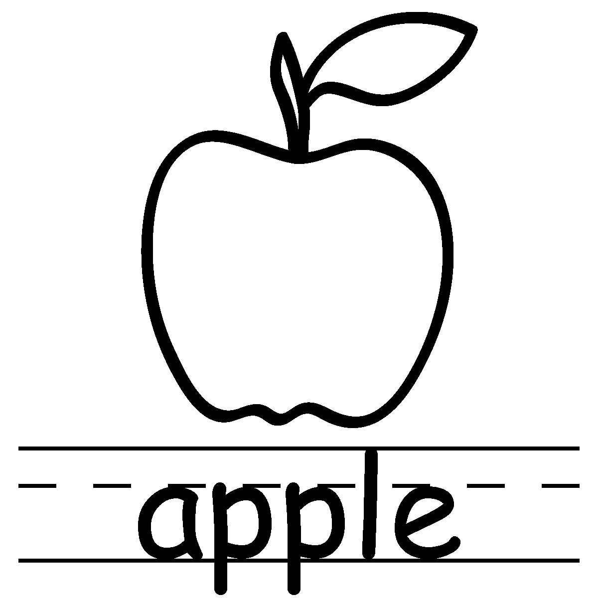 Apple clipart blackline vector freeuse Free Apple Clipart | Free Download Clip Art | Free Clip Art | on ... vector freeuse