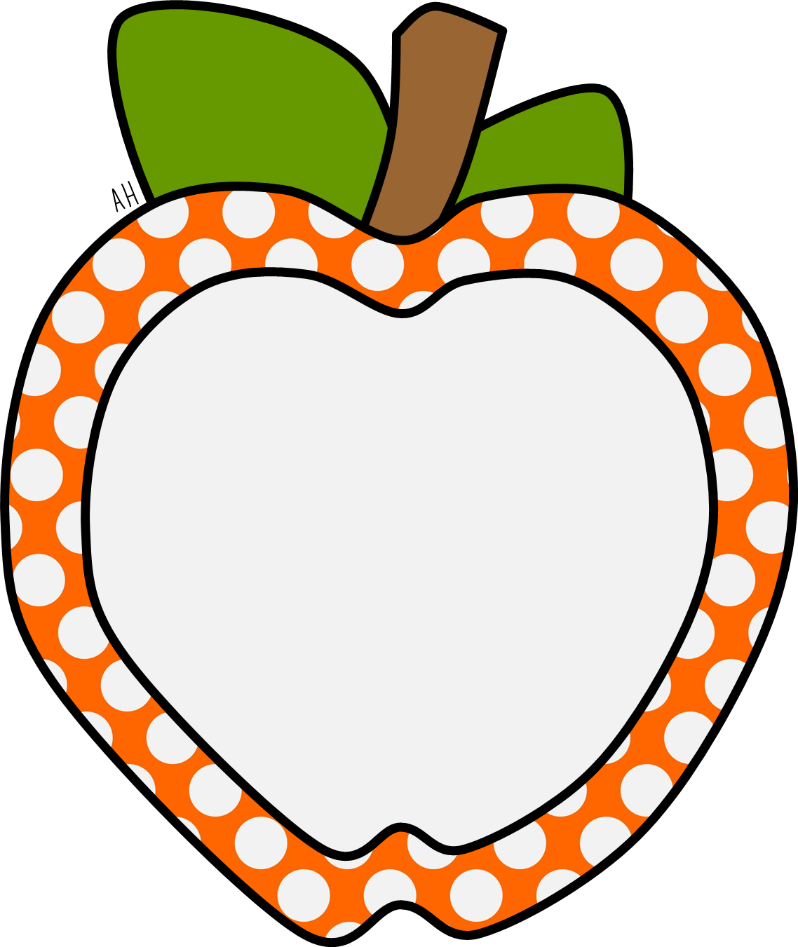 Apple clipart border image Pin by Manuela Battistoni on Marcos (Alimentos) | Pinterest | Apples ... image