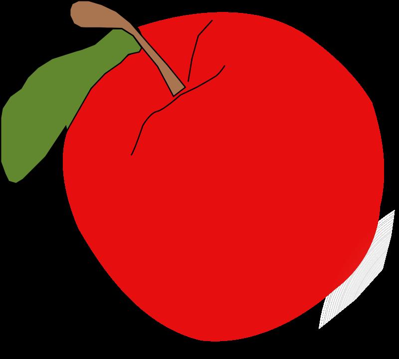 Apple clipart free printable jpg freeuse stock Red Apple Clipart - Free Clip Art - Clipart Bay jpg freeuse stock
