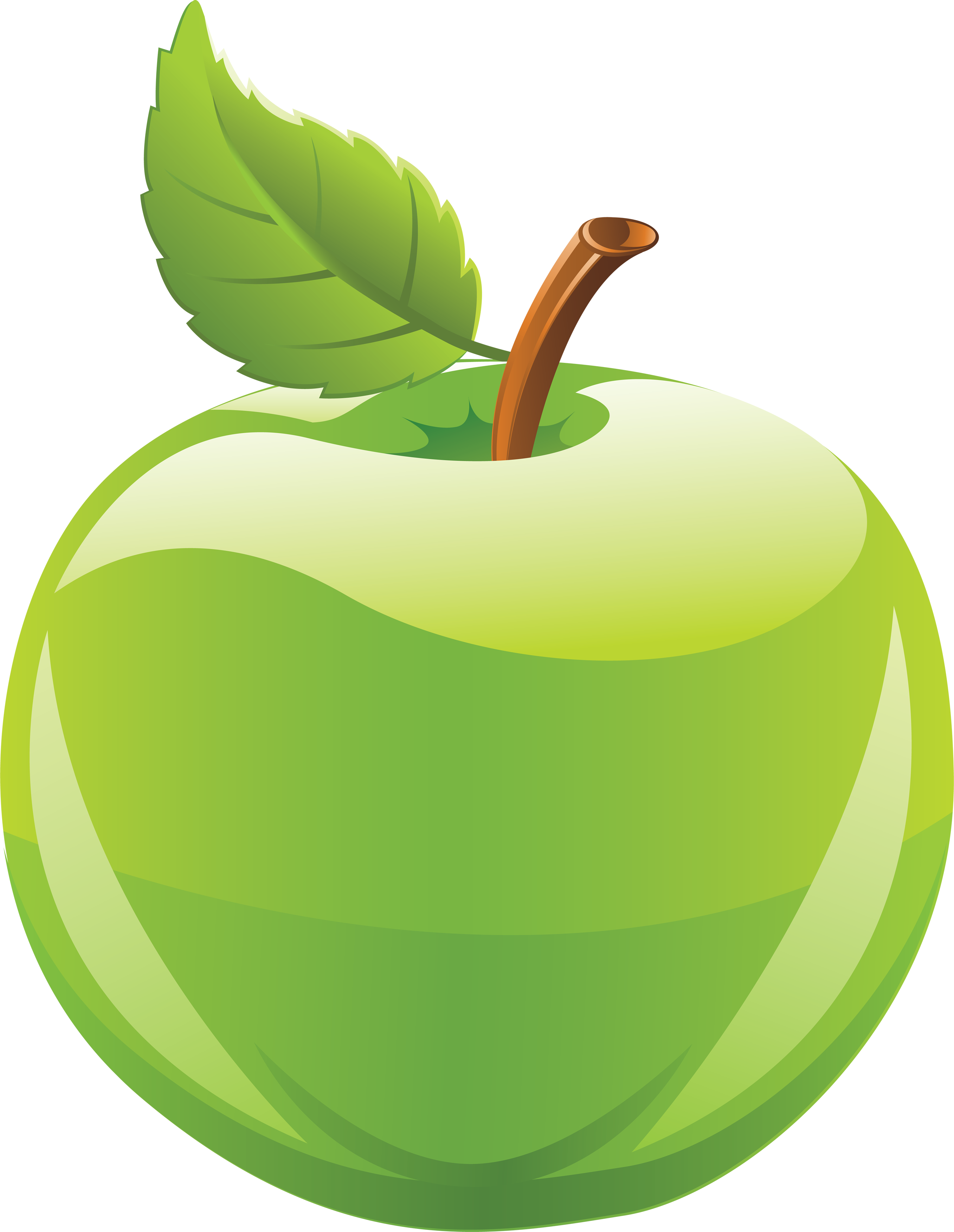 Apple clipart green png transparent Green Apple Clipart Png | Letters Format png transparent