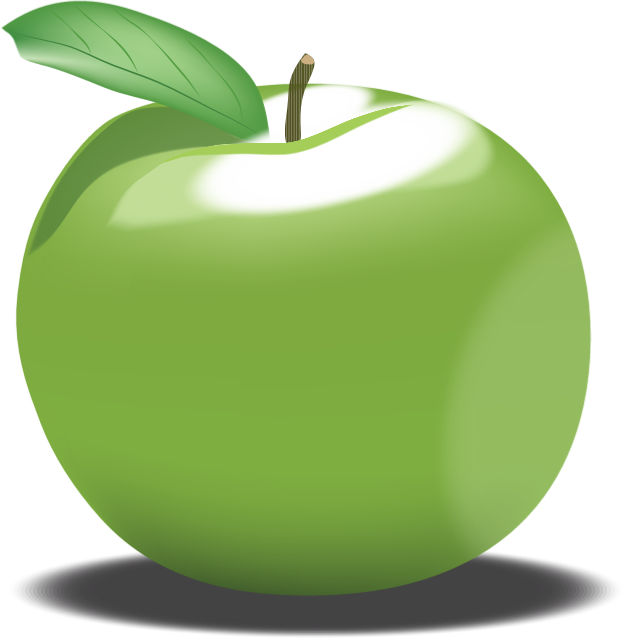 Apple clipart green picture library download Clipart - Green Apple picture library download