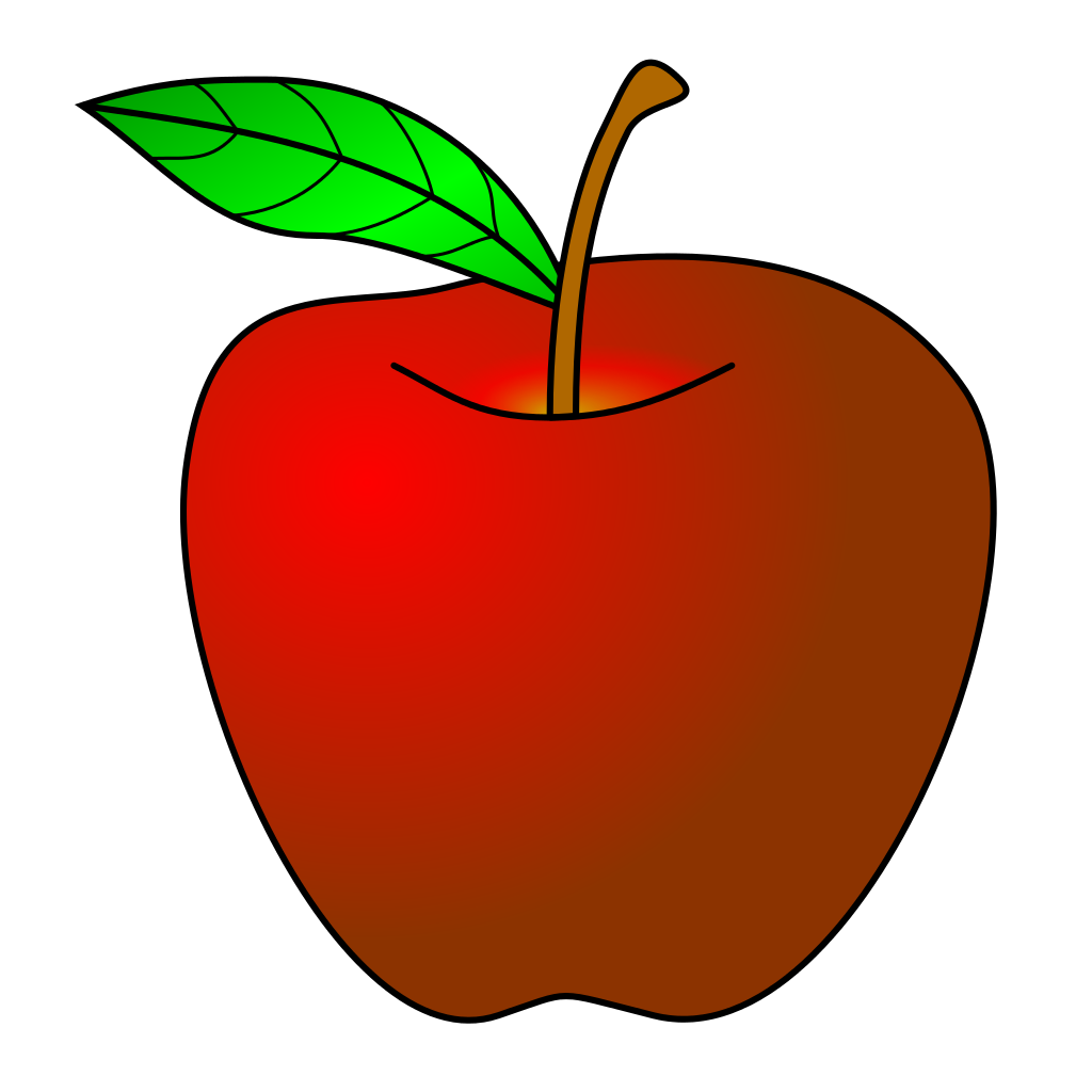 Clipart red apple clip art royalty free library Apple Template Group (62+) clip art royalty free library