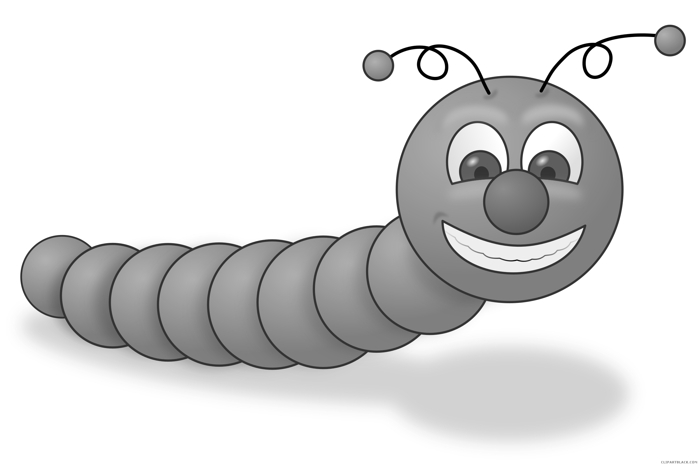 Apple clipart greyscale vector free Worm - Page 6 of 7 - ClipartBlack.com vector free