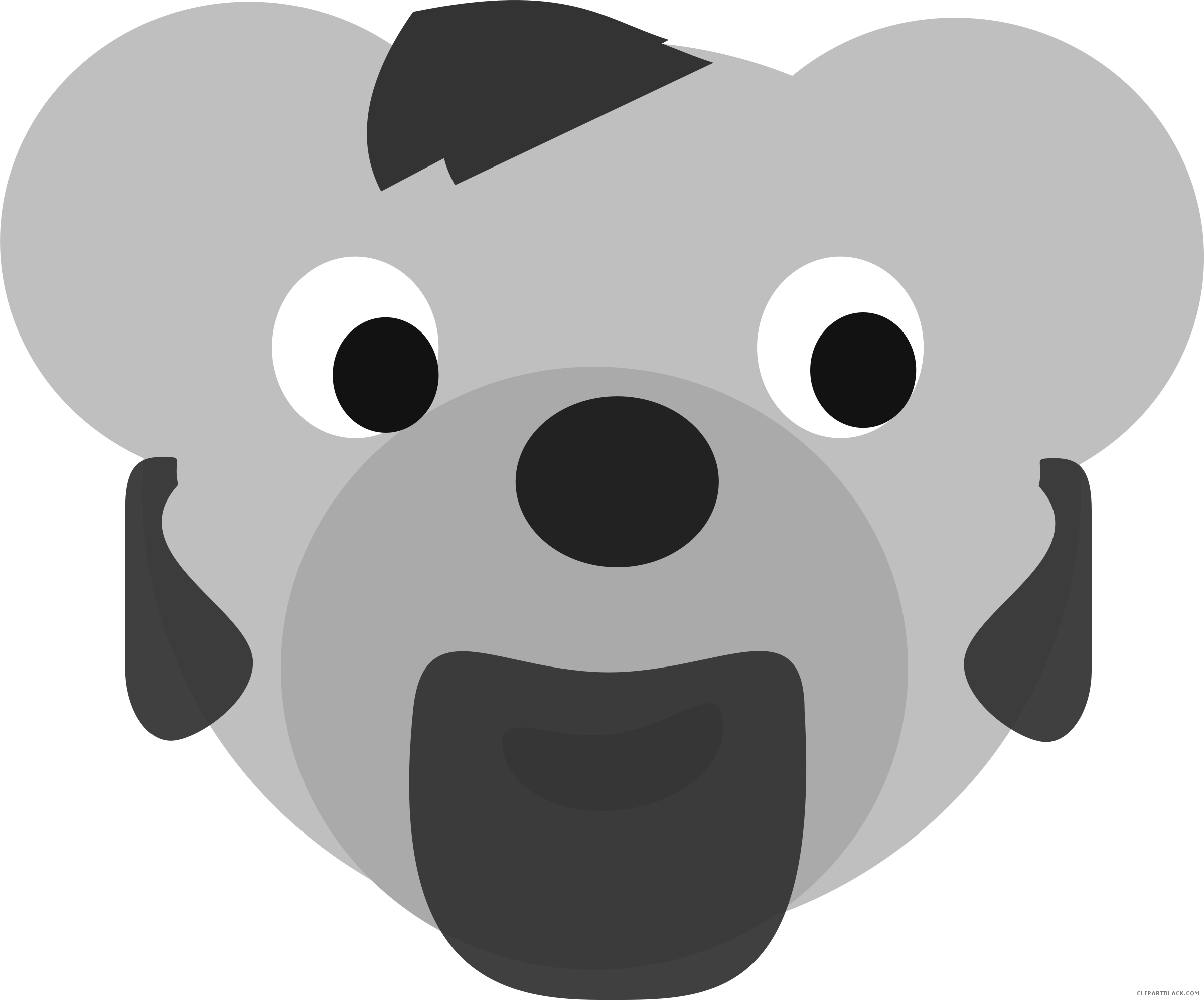 Bear head animal free. Elk football player clipart