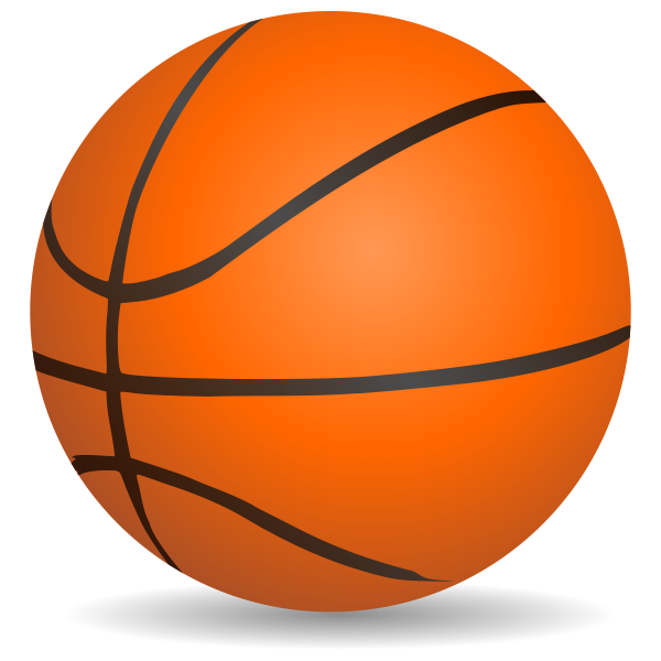 Basketball clipart no white background vector download Basket No Background Clipart vector download