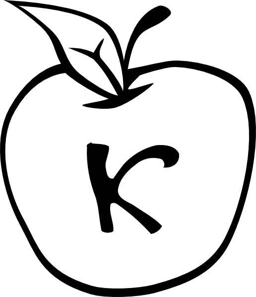 Apple outline clipart black and white Apple Outline Clip Art | Clipart Panda - Free Clipart Images black and white