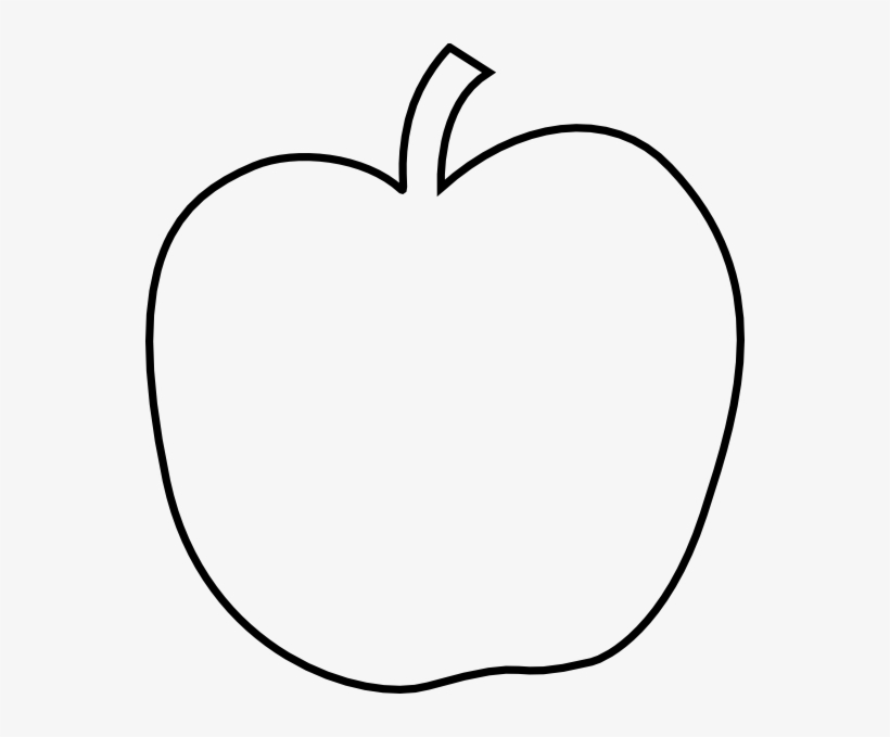 Apple clipart outline while jpg transparent stock Apple Outline Png - Apple Clipart PNG Image | Transparent PNG Free ... jpg transparent stock