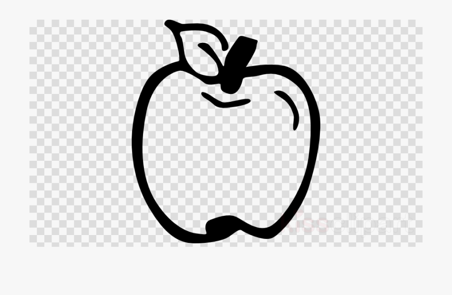 Apple clipart outline while png stock Apple Outline Png Clipart Apple Clip Art - Transparent Background ... png stock