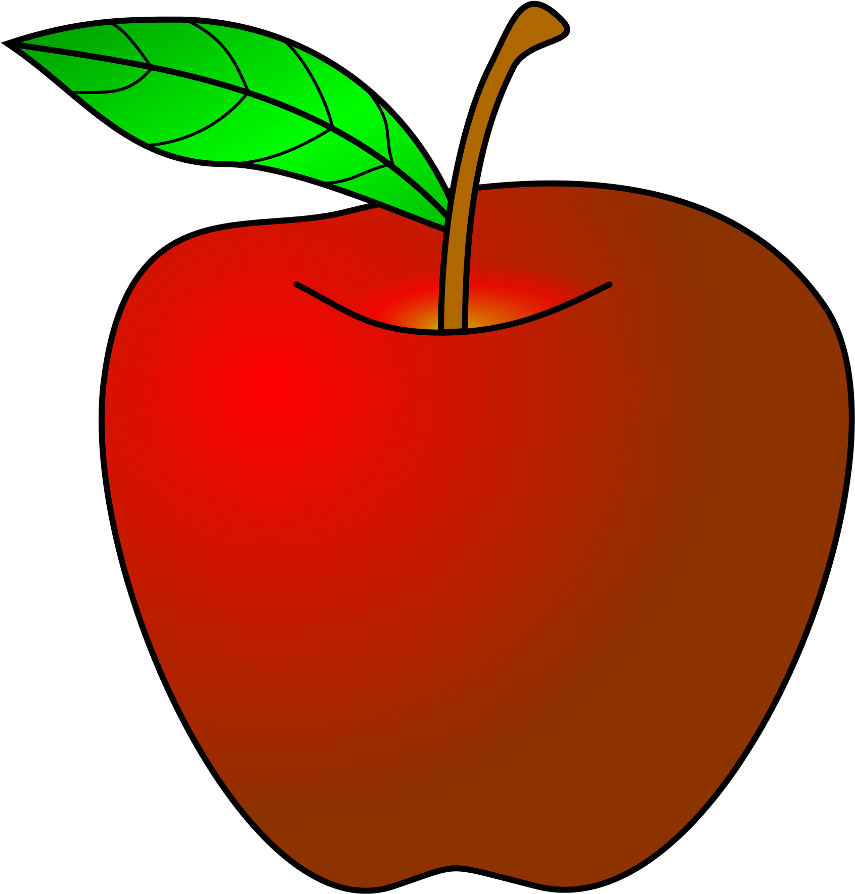 Apple clipart parts black and white library HD Teacher With Apple Png - Apple Clipart Transparent PNG Image ... black and white library