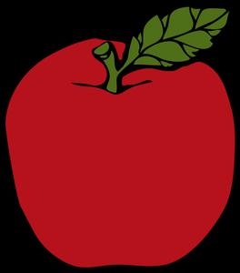 Apple clipart public domain vector freeuse 245 apple free clipart | Public domain vectors vector freeuse