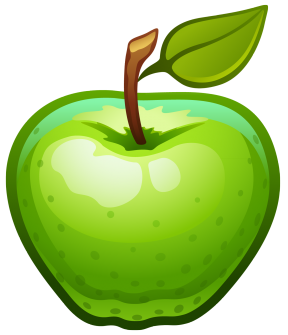 Apple clipart real vector Image Apple Clipart - Cliparts Zone vector