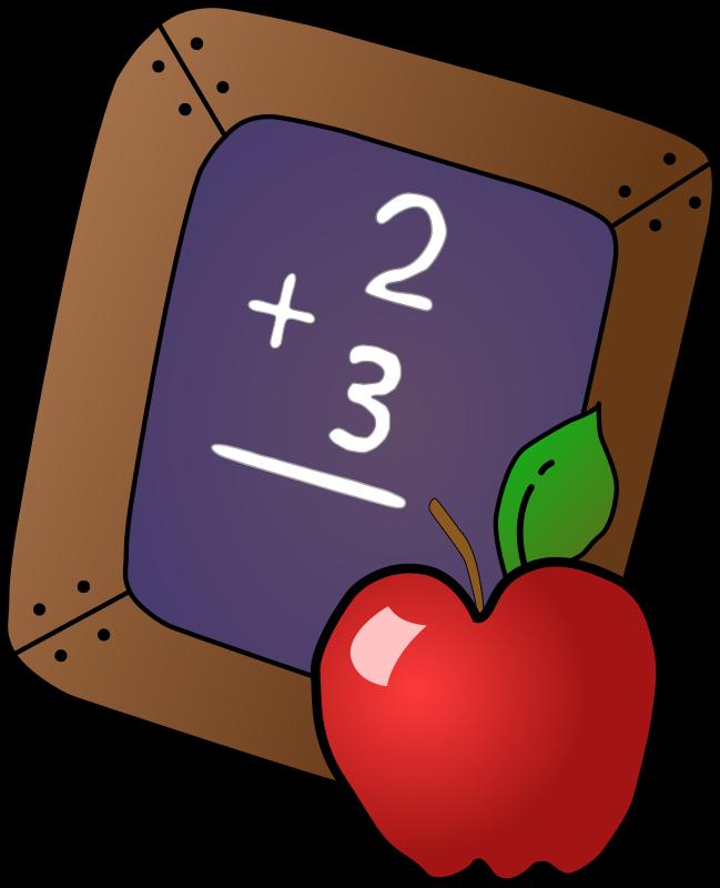 Apple school clipart svg freeuse download Clipart - Slate & Apple svg freeuse download
