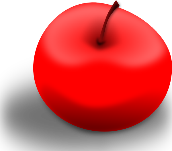 Number one apple clipart svg stock Teacher Apple Clipart svg stock