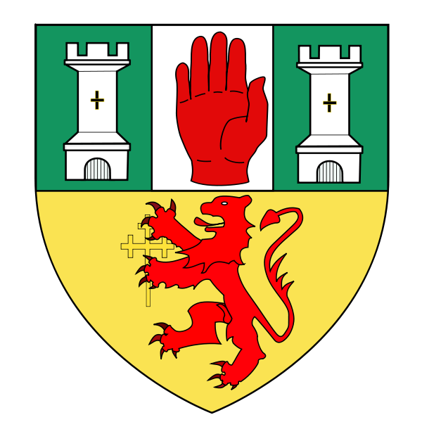 Apple clipart vintage coat of arms clipart freeuse library Counties of Ireland: Antrim In Ulster (Northern Ireland) - Coat Of ... clipart freeuse library
