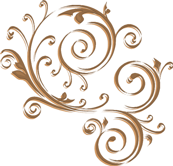 Apple clipart w swirly design freeuse stock Swirls png | gold_swirl_png.png | swirl | Pinterest | Svg file, Clip ... freeuse stock