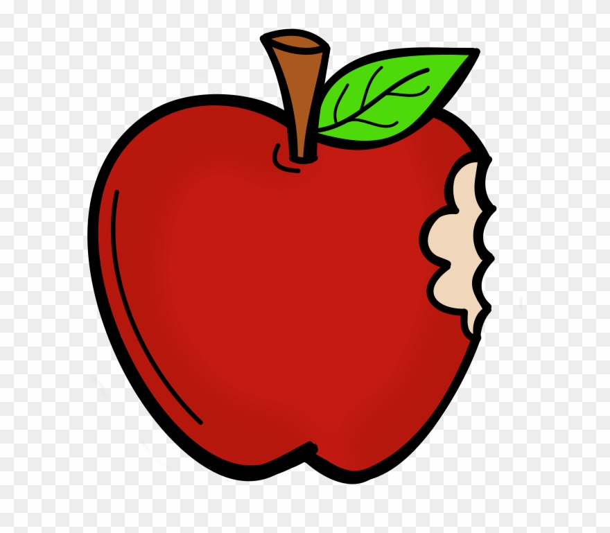 Apple clipart with a bite free download Cartoon Apple With A Bite Clipart (#3313258) - PinClipart free download