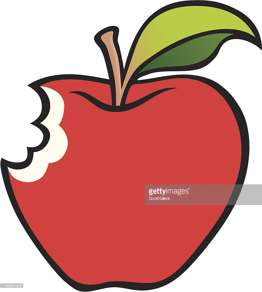 Apple clipart with a bite jpg free stock Bitten apple clipart 5 » Clipart Station jpg free stock