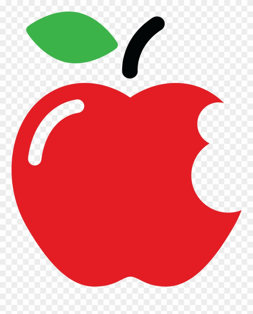 Apple clipart with a bite vector free stock Pfe Bite-sized Learning Series - Cartoon Apple With Bite Clipart ... vector free stock
