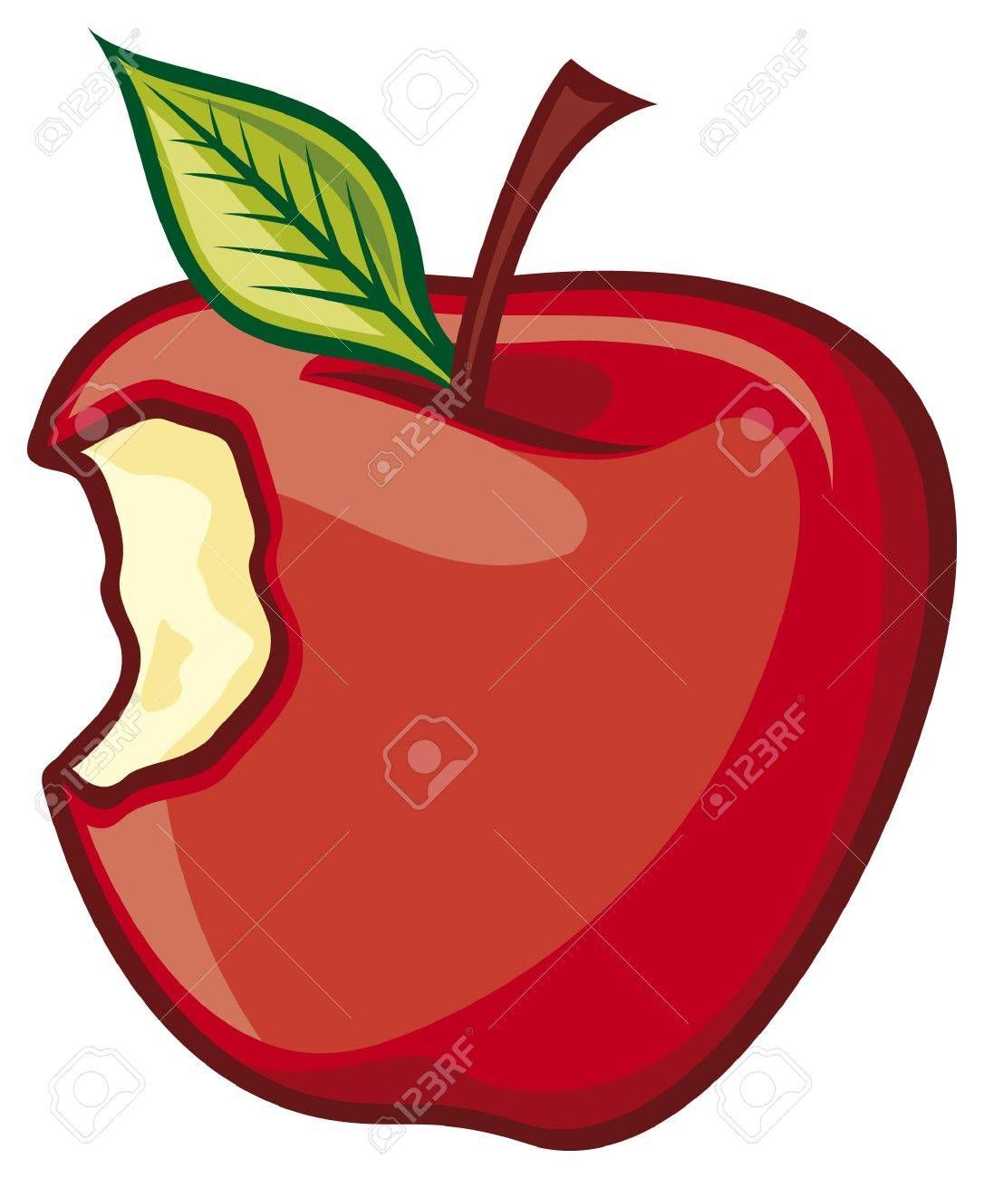 Apple clipart with a bite picture royalty free download Stock Vector | Apple Bites | Apple vector, Apple stock, Fresh apples picture royalty free download