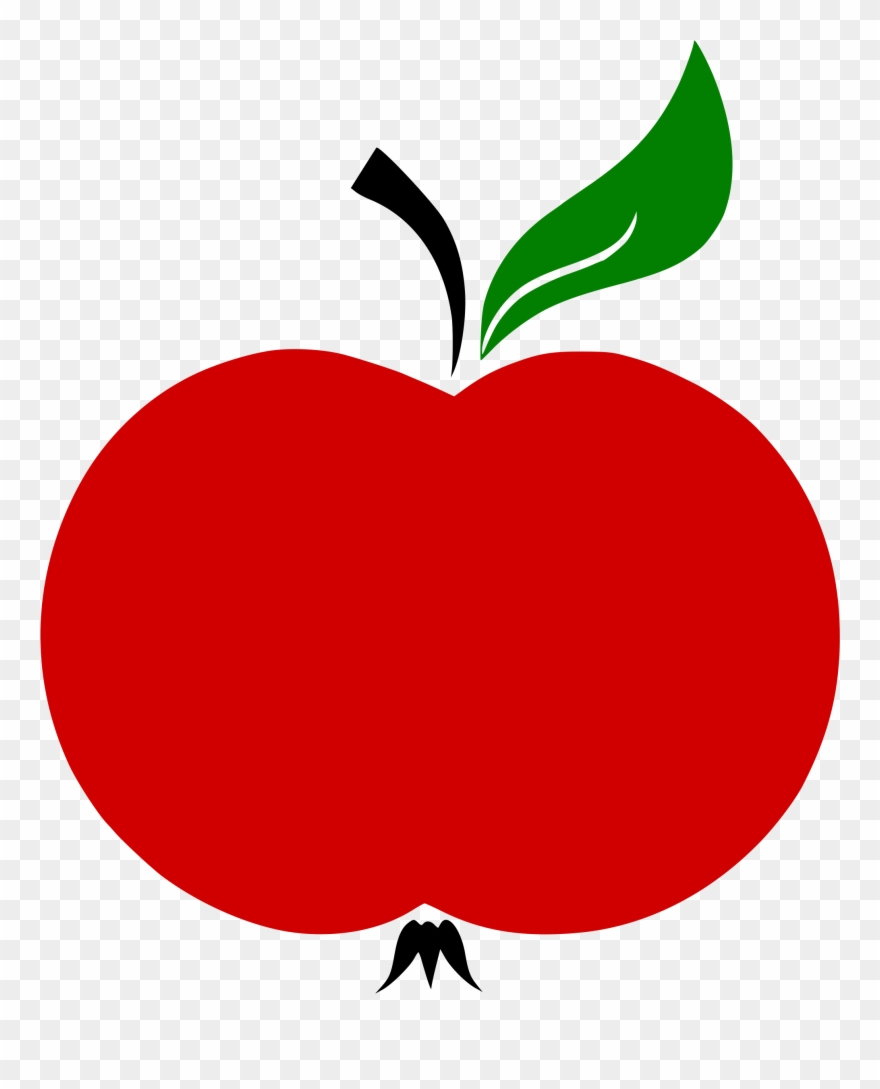 Apple clipart without leaf jpg transparent stock Apple Stem And Leaf Vector Clipart (#837857) - PinClipart jpg transparent stock