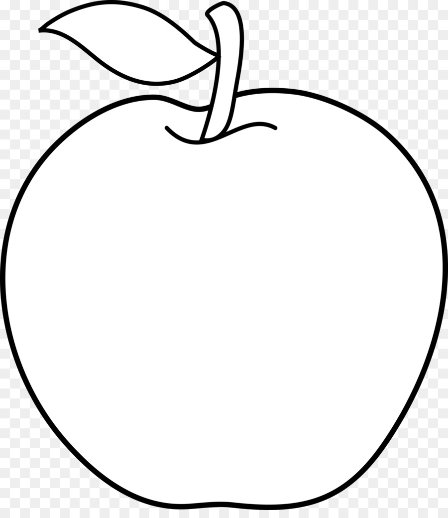 Apple clipart without leaf clip art freeuse library Black And White Flower clipart - Apple, Leaf, Circle, transparent ... clip art freeuse library