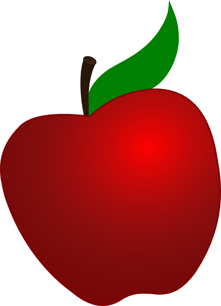 Apple clipart without leaf free Apple Clipart Vector | Free download best Apple Clipart Vector on ... free