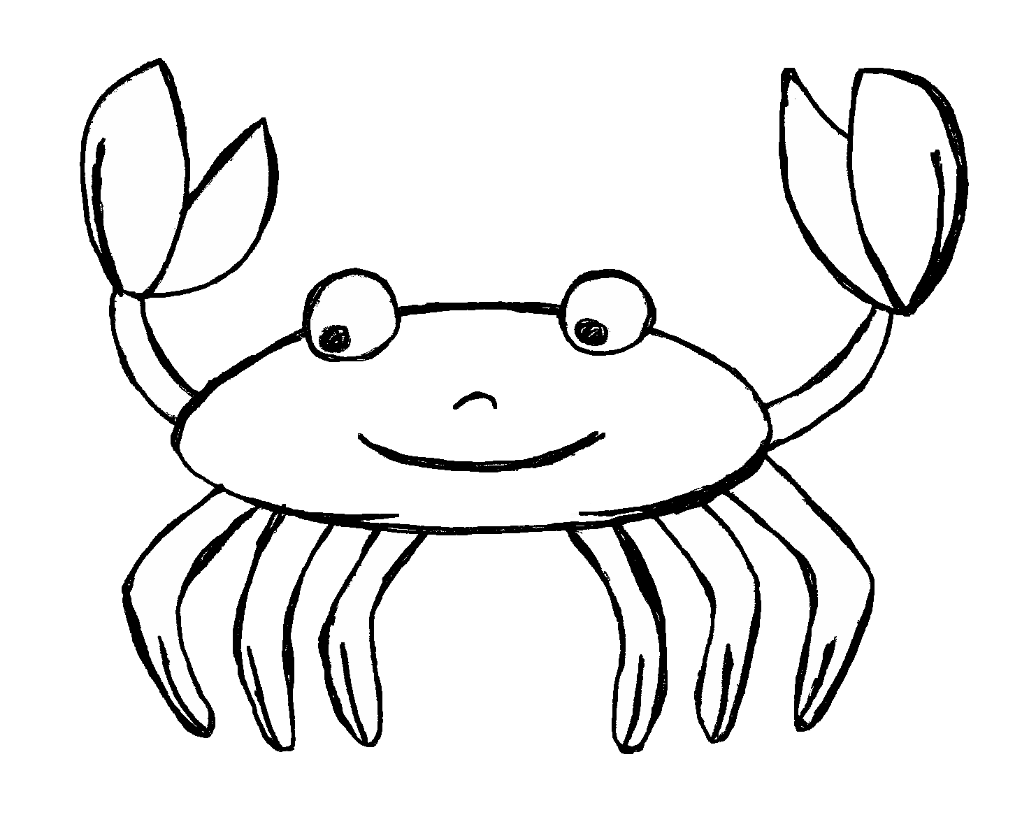 Apple crab clipart black and white clip transparent stock Clip Art by Carrie Teaching First: Ocean Doodles Clip Art with FREEBIE clip transparent stock