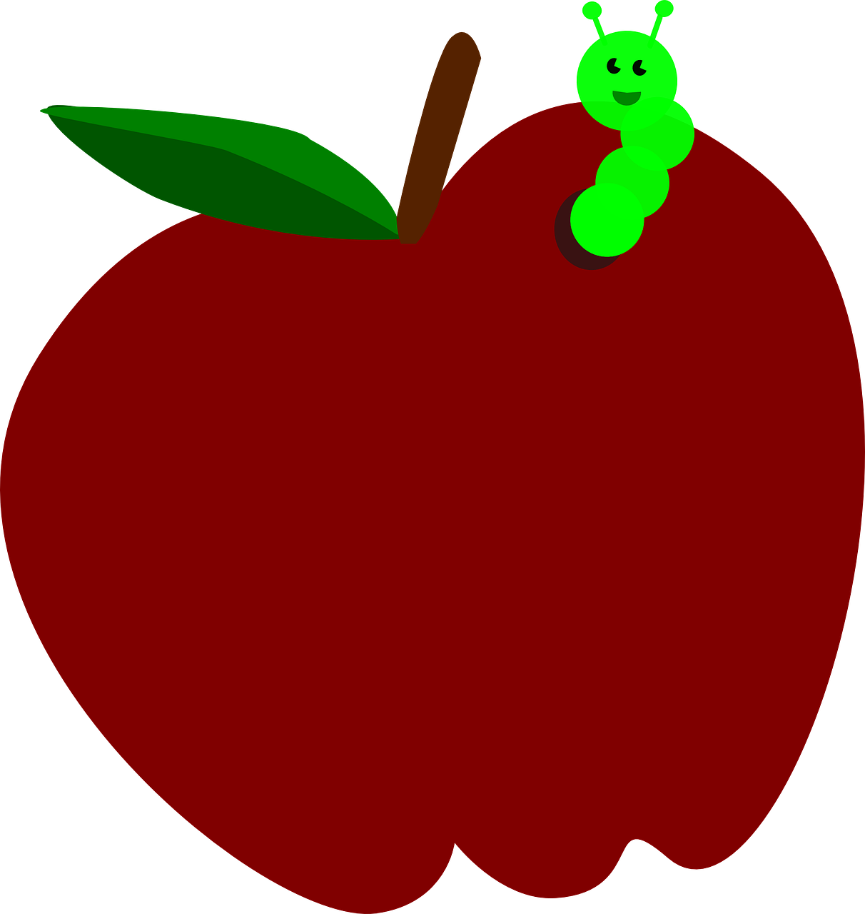 Apple cranberry clipart clip royalty free download Red Apple Fruit Worm transparent image | Red | Pinterest | Apple ... clip royalty free download