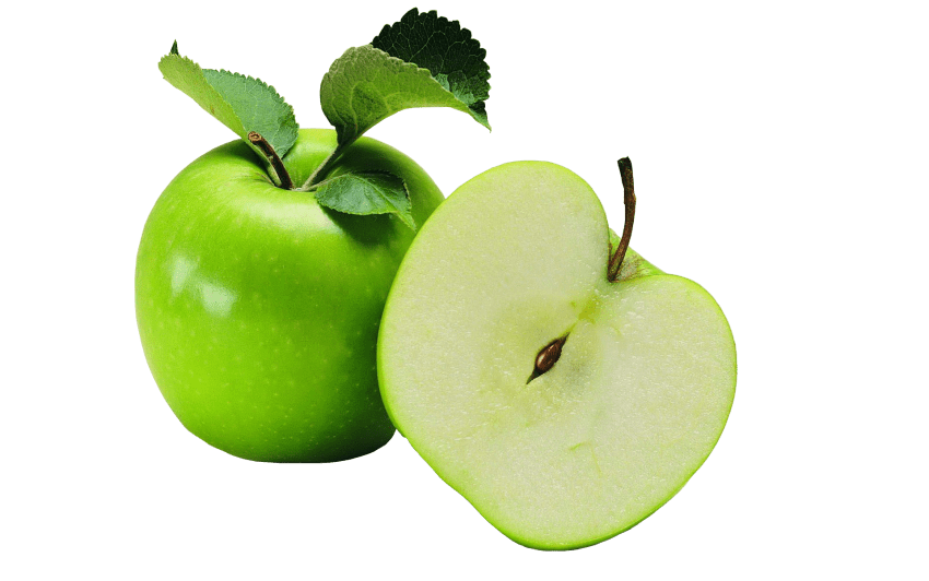 Apple cut clipart free download cut green apple png - Free PNG Images | TOPpng free download