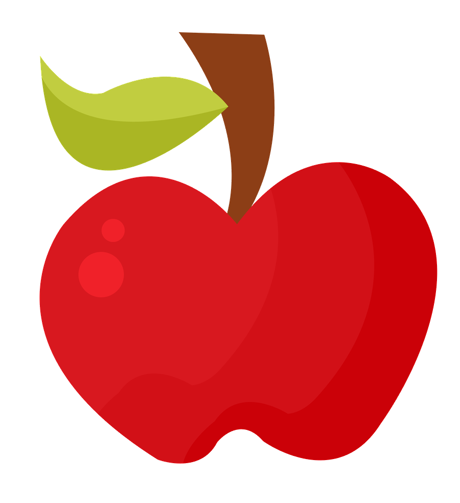 Apple cut clipart graphic freeuse Minus - Say Hello! | blanca nieves | Pinterest graphic freeuse