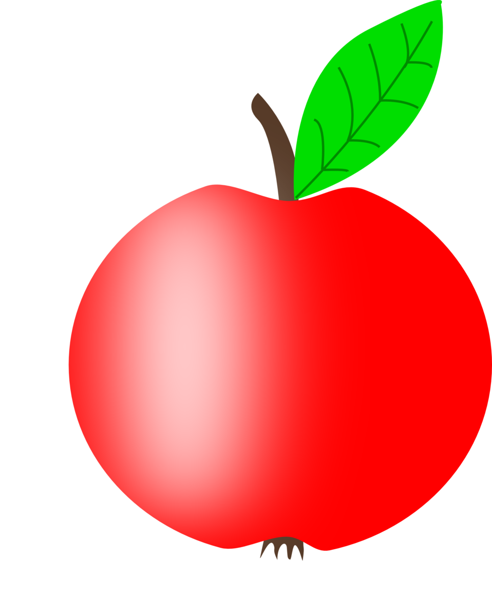 Apple red yellow and green clipart clipart download Public Domain Clip Art Image | Illustration of a red apple | ID ... clipart download
