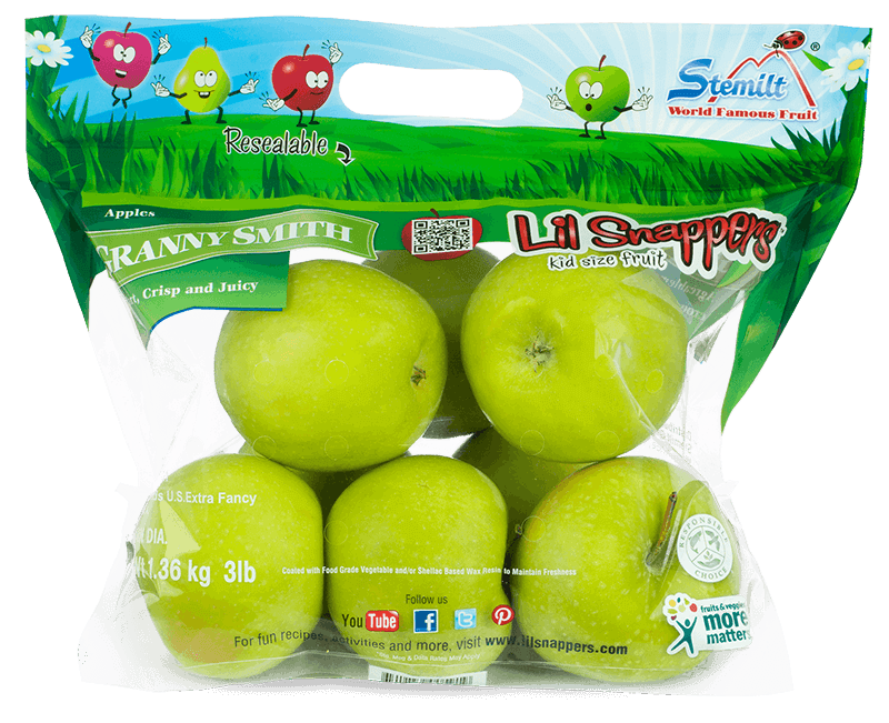 Apple dipped in honey clipart clipart black and white Granny Apple | Organic Granny Apple | Lil Snappers clipart black and white
