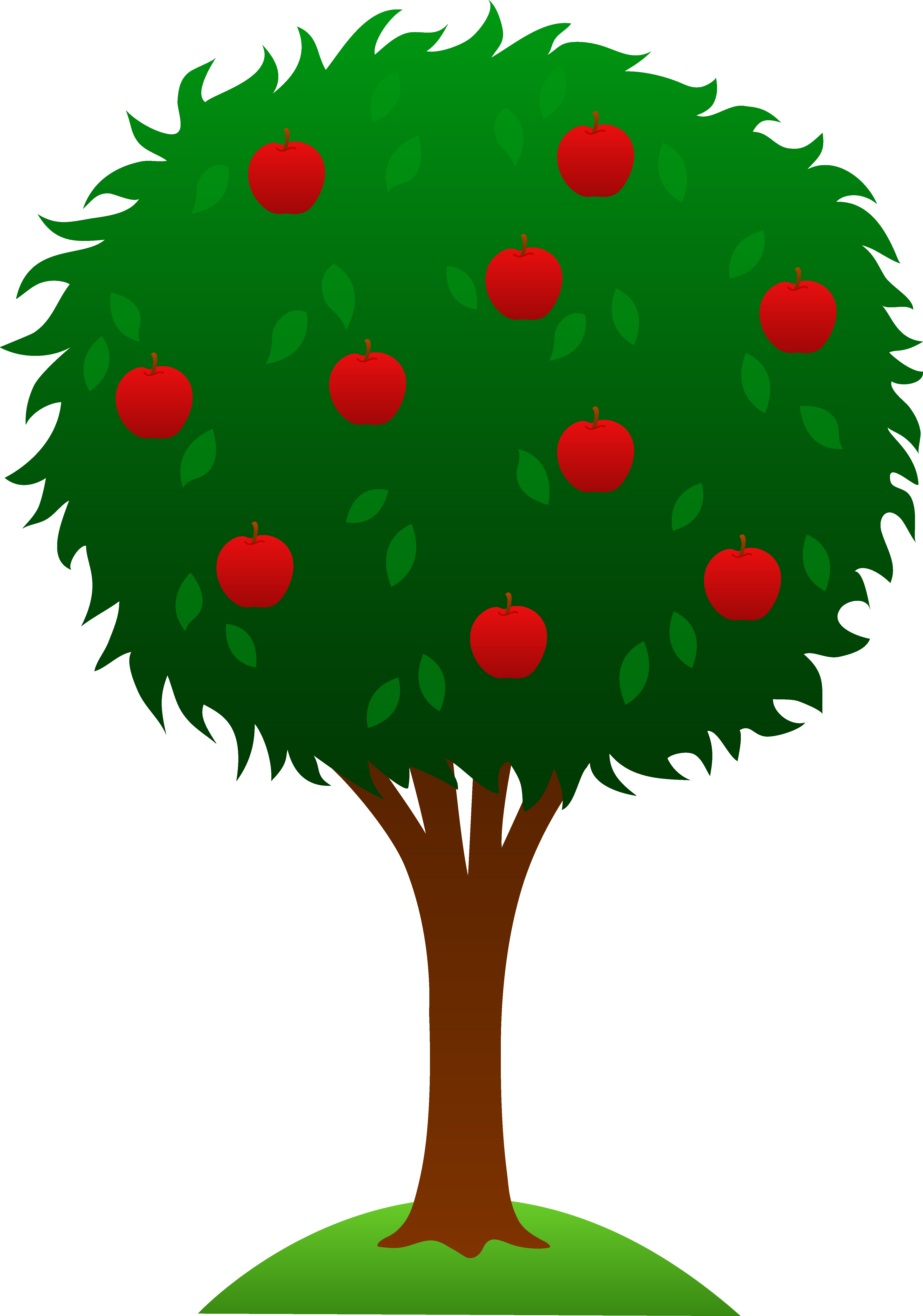 Apple doesn t fall far from the tree clipart transparent library Free Apple Tree Pictures, Download Free Clip Art, Free Clip Art on ... transparent library