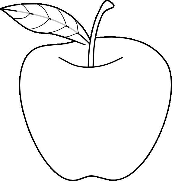 Apple Drawing Clip Art at Clker.com - vector clip art online ... graphic download