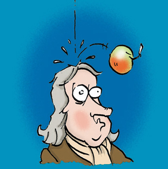 Apple dropping clipart png library stock Newton apple dropping clipart - Clip Art Library png library stock