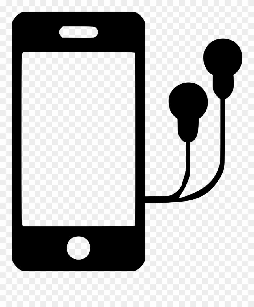 Apple earbuds clipart clipart transparent Iphone With Headphones Clipart Apple Earbuds Headphones - Phone With ... clipart transparent