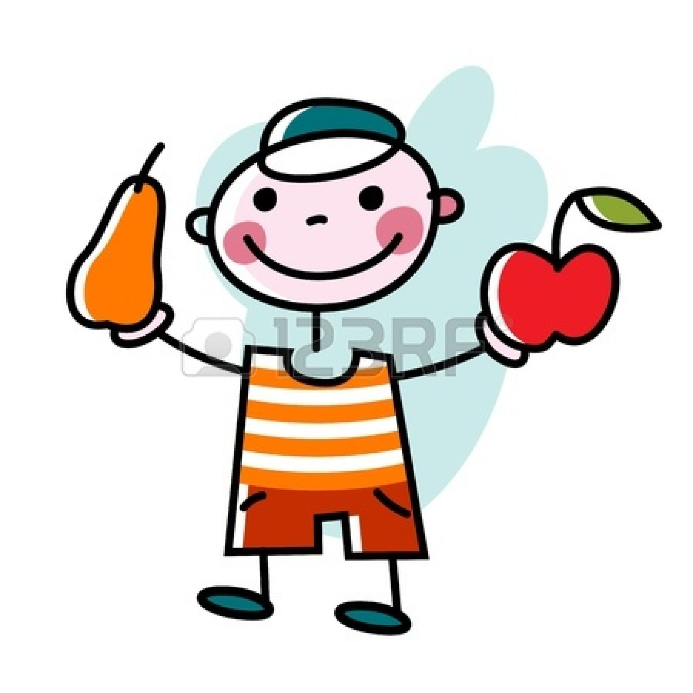 Apple eating apple clipart png library library Children eating apple clipart - ClipartFest png library library