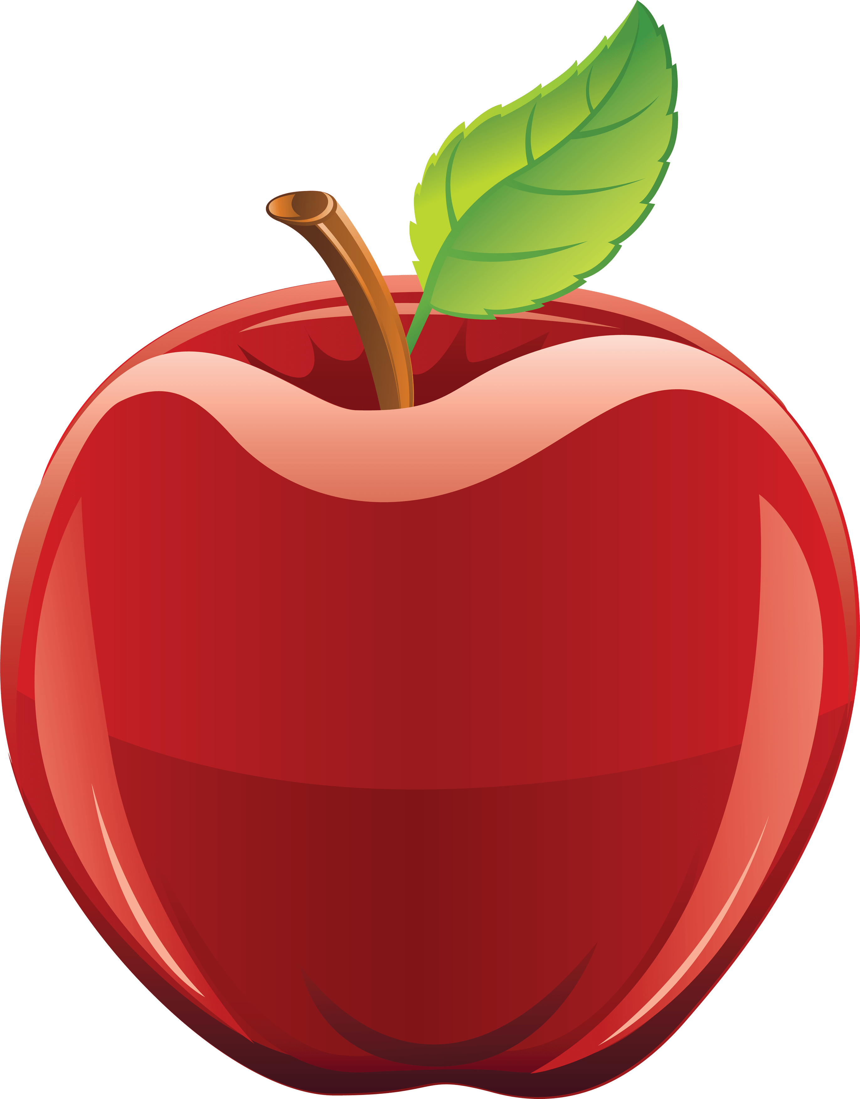 Clipart picture of a apple vector transparent library 18 Red Apple Png Image vector transparent library