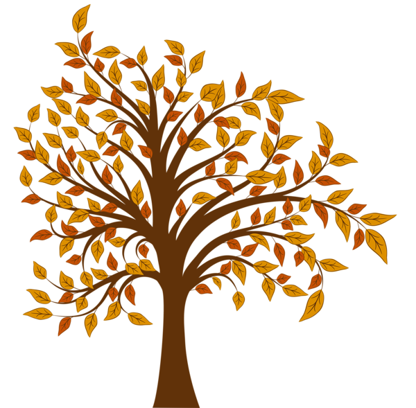 Purple tree clipart picture transparent stock Fall Tree PNG Clipart Image | Fall Cookies | Pinterest | Clipart ... picture transparent stock