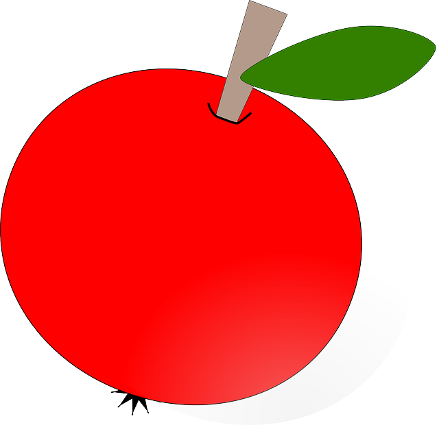 Inside apple clipart download red, apple, food, fruit, apples, cartoon, round, plant | Clipart ... download