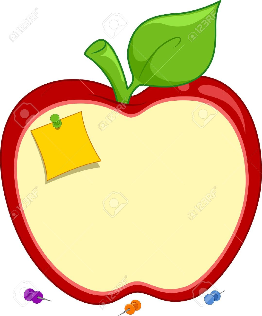 Apple frame clipart vector library stock Apple Shape Clipart | Free download best Apple Shape Clipart on ... vector library stock