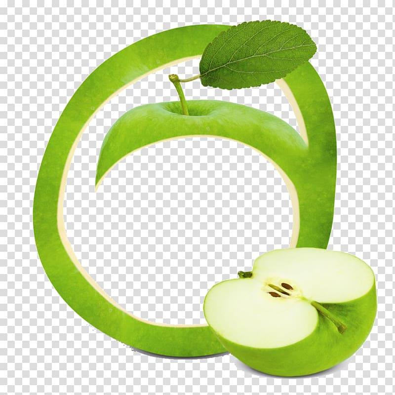 Apple frame clipart svg black and white library Smoothie Fruit Apple frame , Green Apple transparent background PNG ... svg black and white library