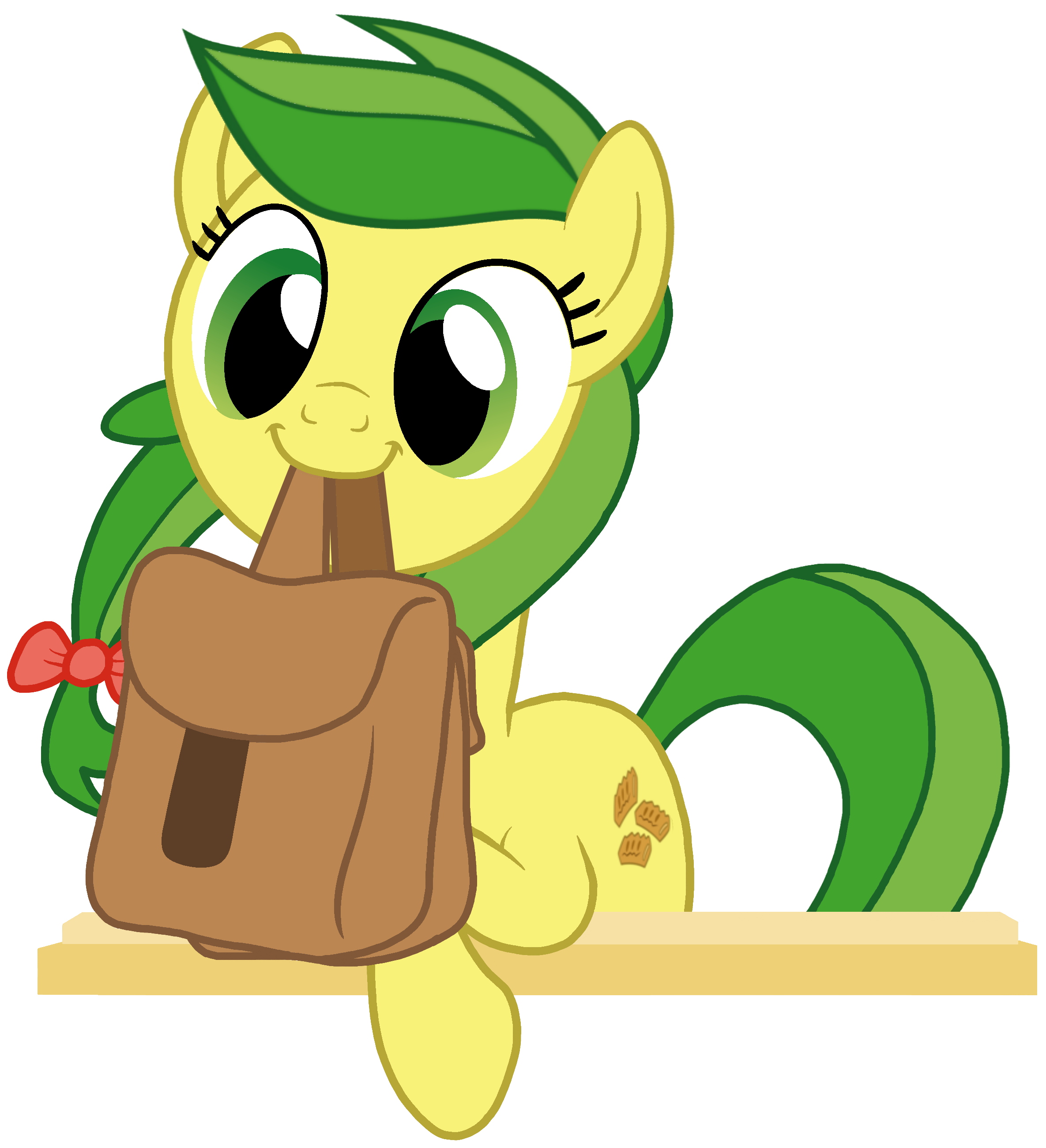 Apple fritter clipart png library download Adorable Apple Fritter Holding Bags by Torvusil on DeviantArt png library download