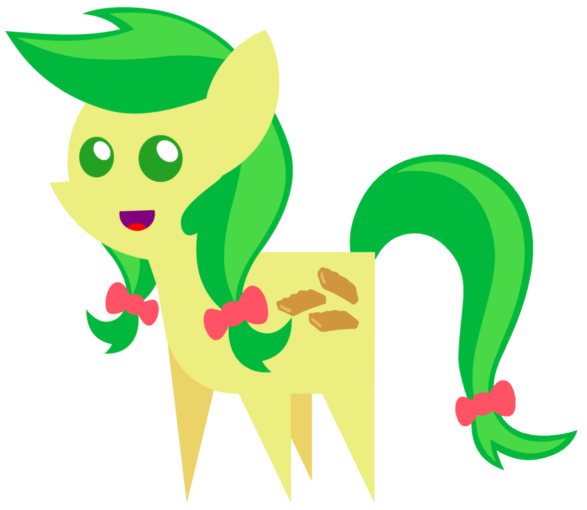 Apple fritter clipart vector freeuse download 544765 - apple fritter, cute, pointy ponies, safe, solo - Derpibooru ... vector freeuse download