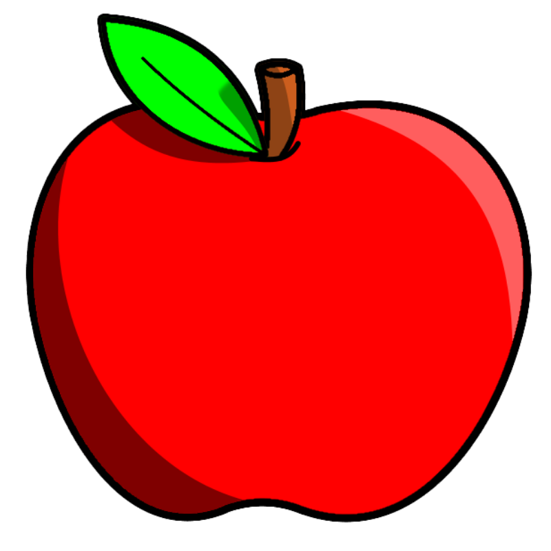 Apple fruit clipart svg royalty free download Fruits | OpenGameArt.org svg royalty free download