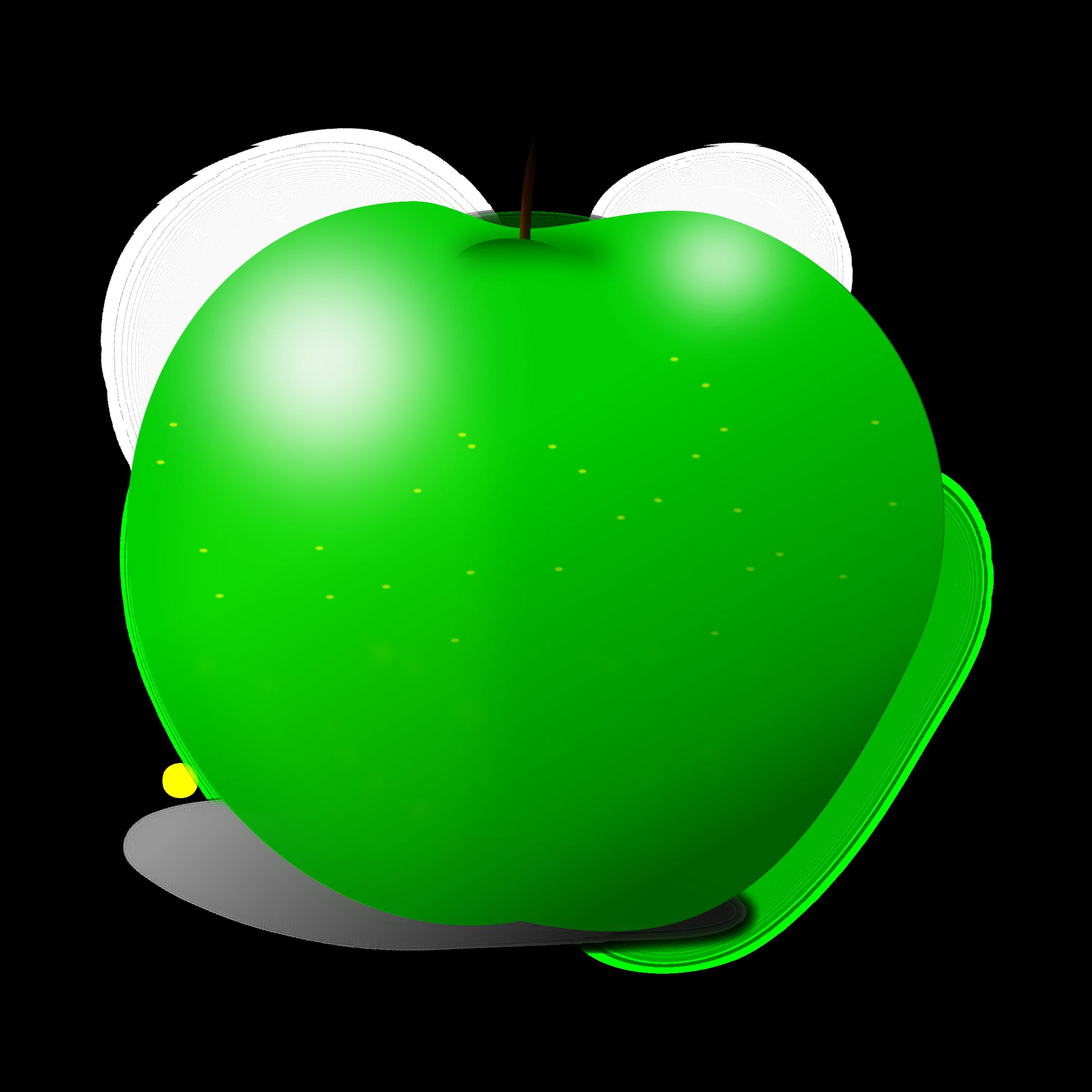 Granny smith apple tree clipart vector black and white download Clipart - Apple vector black and white download