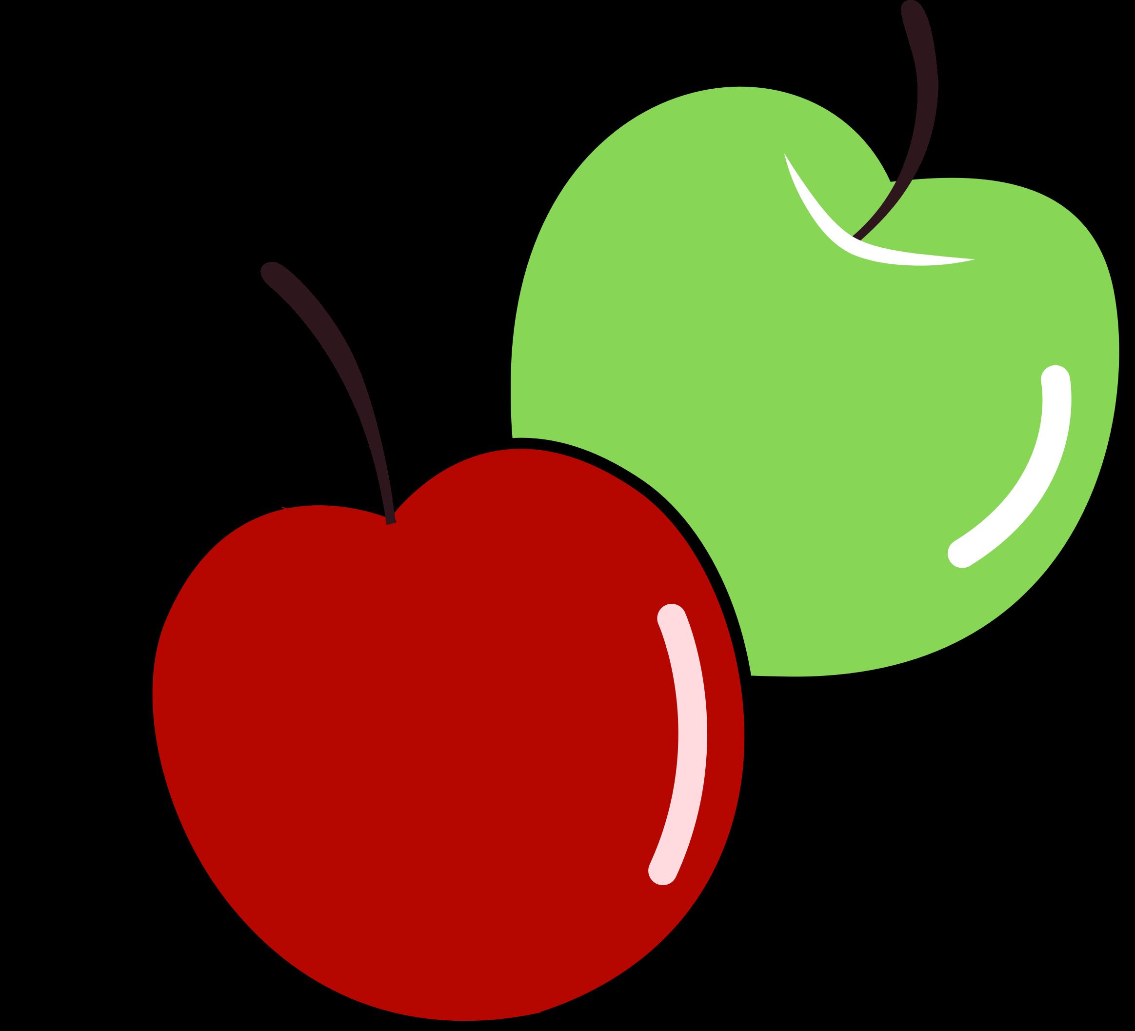 Public domain apple clipart jpg transparent Clipart - Apples jpg transparent
