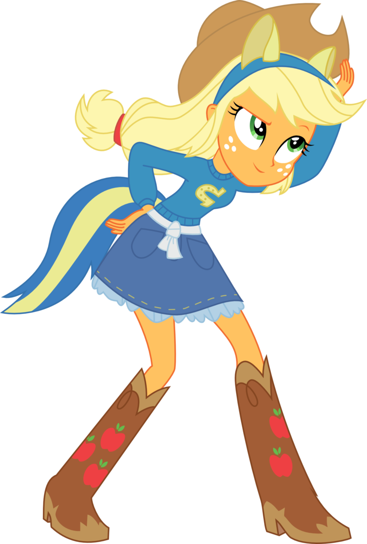 Apple jack clipart clip free library Apple Jack Equestria Girl Clipart clip free library