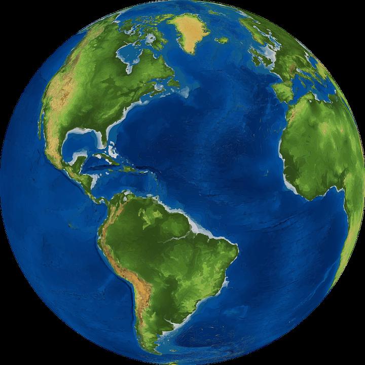 Apple globe world map clipart jpg free stock Earth Globe World map - World PNG HD 720*720 transprent Png Free ... jpg free stock